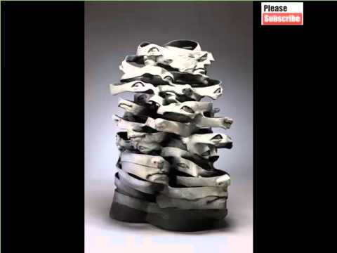 Geometric Abstract Ceramic Sculpture Ideas | Ceramic Arts & Decoration Picture Gallery Collection