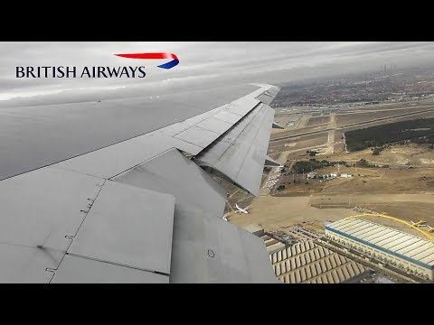 British Airways Boeing 767-300(ER) | Madrid to London Heathrow *FULL FLIGHT*