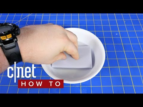 Make your own Magic Erasers for less (CNET How To)