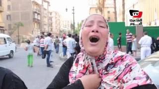 «الأمن» يحاصرمسيرة أهالي «تل العقارب» لمنع وصولهم إلي «الوزراء»