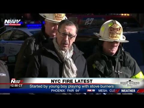 FNN: Trump golfs with Coast Guard members, NYC fire update