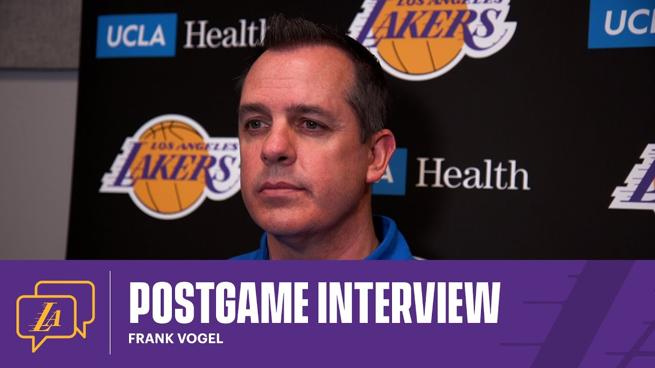 Lakers Postgame: Frank Vogel (5/7/21)
