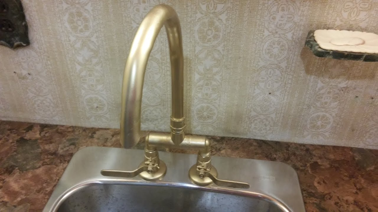 Very HOW TO MAKE YOUR OWN TALL FAUCET FOR ABOUT $20 - YouTube XP87