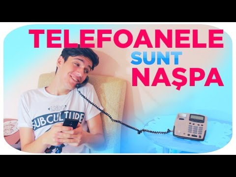 Vorbitul la telefon e NASPA?
