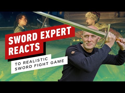 Download Sword Expert Reacts to Realistic Sword Fighting Game | Hellish Quart