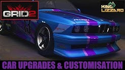 GRID 2 CAR UPGRADE AND CUSTOMISATION GUIDE