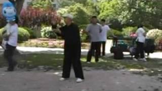 master zhou qingxian taijiquan style wu short form