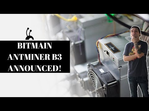 NEW ANTMINER B3 LAUNCHED!?! | MINING BYTOM @ 780H/s