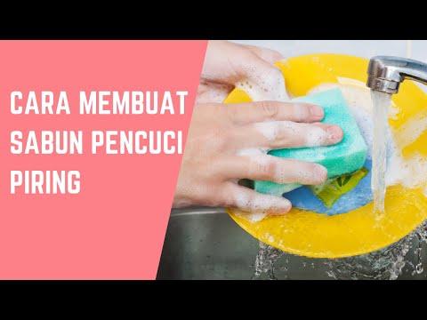 Cara membuat Sabun Pencuci Piring