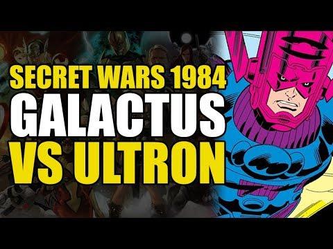 Secret Wars 1984 Part 1: Galactus Vs Ultron | Comics Explained