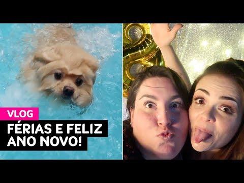 Vlog: férias na Riviera, Cookie na piscina, feliz ano novo! • Karol Pinheiro