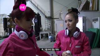 2NE1_TV_Season 2_E02-1_2NE1's filming new MVs