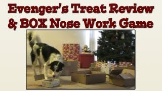 Using Evanger's Treats In A Box Nose Work Tutorial - Positive Dog Training
