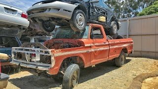 Finding Tucked Away Classics In a Junkyard!