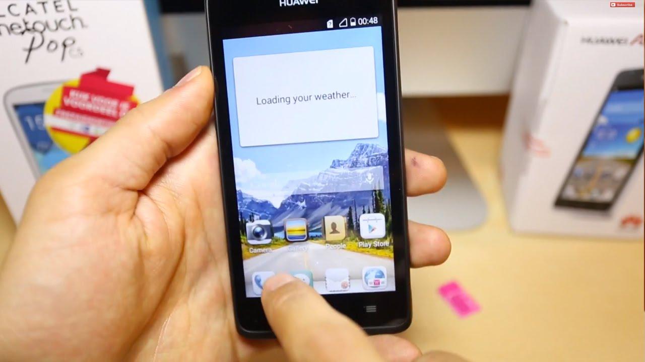 How do you unlock a Huawei mobile phone?