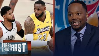 Vince Goodwill talks NBA playoff chances for Lakers, Clippers & Rockets | NBA | FIRST THINGS FIRST