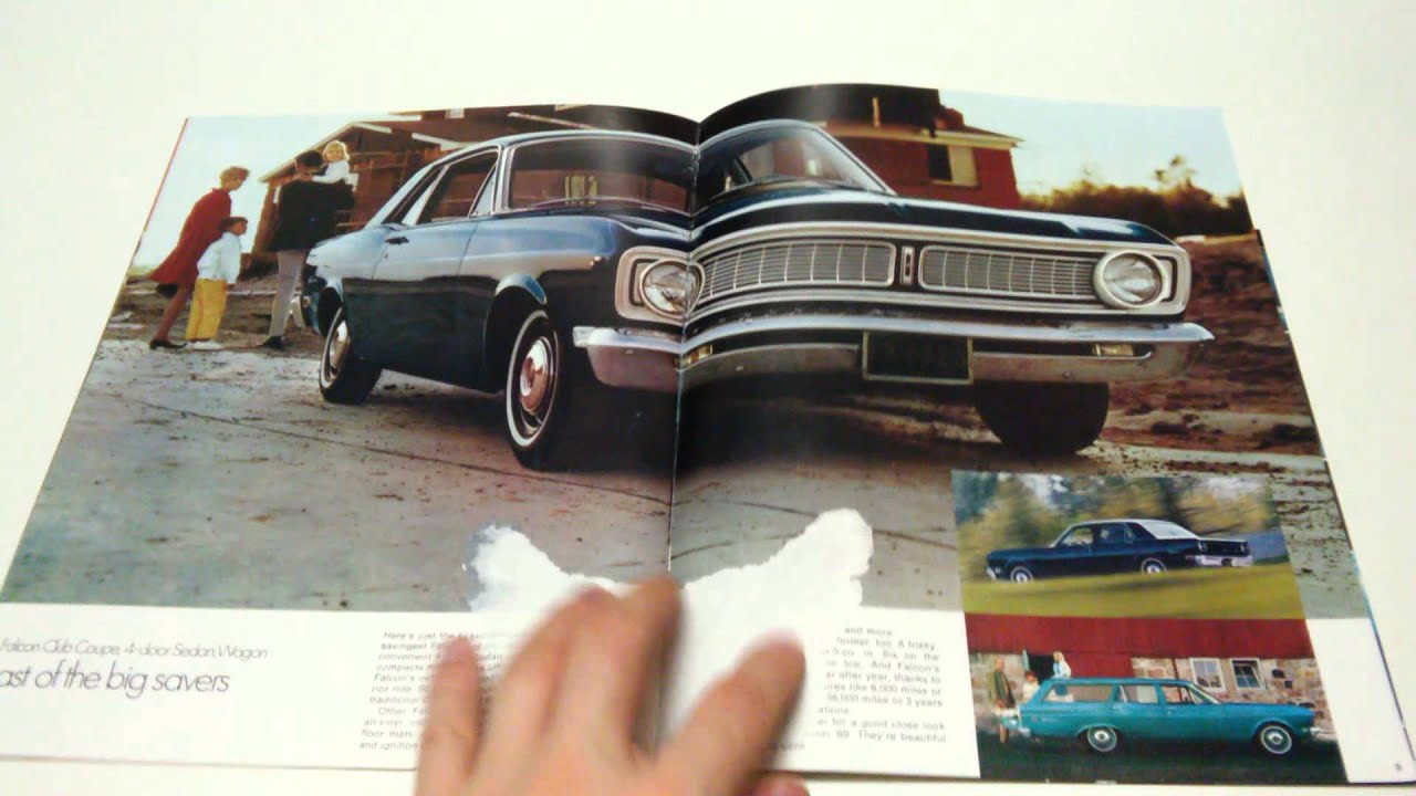 '69 Ford Falcon Commercial Brochure