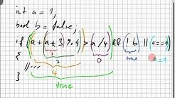 02B.1 Operatoren, Präzedenz, Short-Circuit-Auswertung