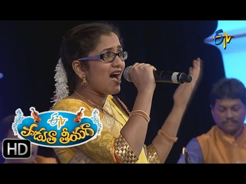Vastadu Naa Raju Song - Priya Performance in ETV Padutha Theeyaga - 9th May 2016