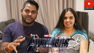 Avengers Endgame Tamil Review | Malaysian Indian Couple | SPOILER FREE