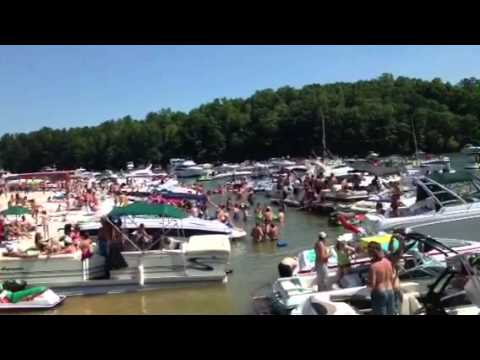 Sunset cove Lanier ga 2013 - YouTube Lake Lanier Party