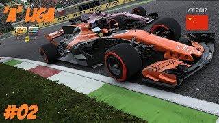 """F1 2017 """"A"""" LIGA // 2.FUTAM: KINA GP // MIRAGESPORT.TV KÖZVETITÉS"""