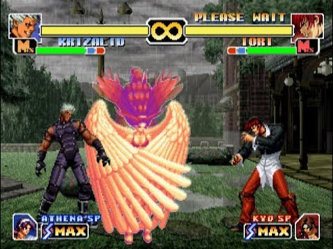 [PS2] The King Of Fighters 99 Evolution - All Secret Strikers+Dark Strikers