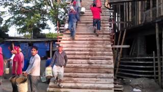 La Pamilla, Mexico Church Roof Construction