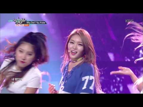 뮤직뱅크 Music Bank - Why Don't You Know - 청하 (Why Don't You Know - CHUNG HA).20170609