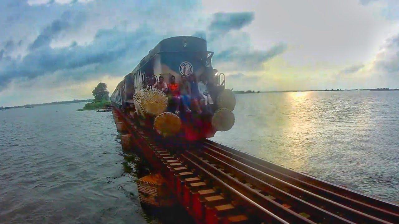 worst train journey by BD LOCAL Train || BRIDGE