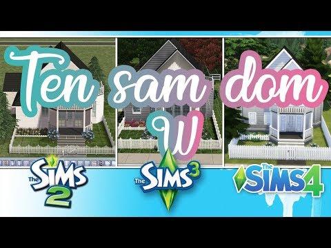 BUDUJE TEN SAM DOM W THE SIMS 2, 3 i 4! + Avril Lavigne nie żyje? - Prawda o tej teorii - Q&A thumbnail