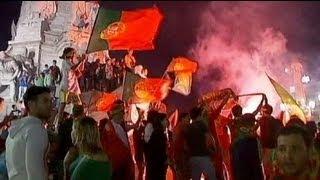 البرتغال أول المتأهلين إلى نصف نهائي يورو 2012