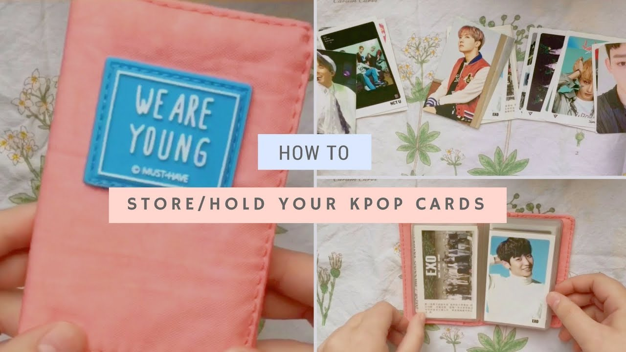 📒 how to store kpop photocards | affordable + cute