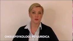 26. Psykologin lausunto huoltoriidassa: millainen se saa olla ja millainen se ei saa olla?