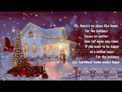 (There's No Place Like) Home For The Holidays ✰ Perry Como *1954*