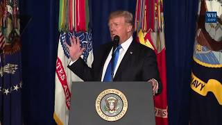 FULL: President Donald Trump Gives Massive Presidential Speech to Address the Nation 22 August 2017