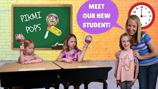 New Kid at FAKE Toy School with Addy Maya & Avery !!! thumbnail