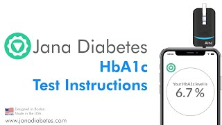 Jana Diabetes HbA1c Instruction Video