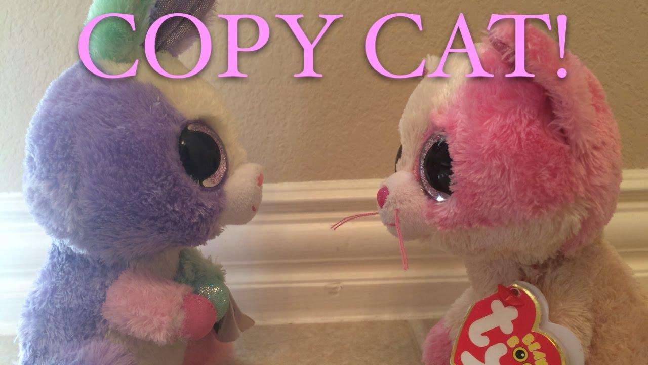 Beanie Boo s  COPY CAT! - YouTube 53f3bfbc41d