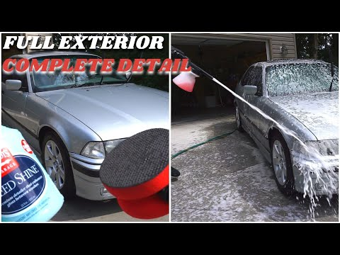 Complete Exterior Detail || Cleaning My Filthy BMW Like A Pro