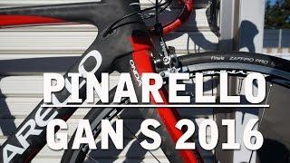 Pinarello Gan S 2016に乗ってみた