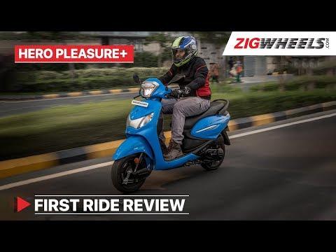 Hero Pleasure Plus 2019 110cc First Ride Review
