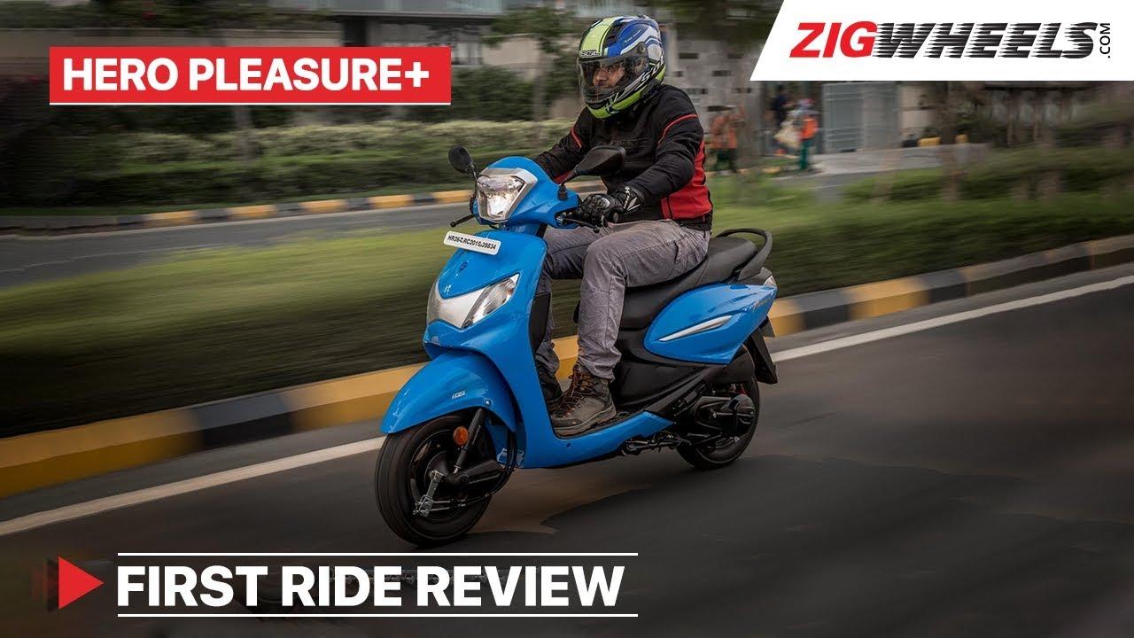 Hero Pleasure Plus 2019 110cc First Ride Review | ZigWheels com
