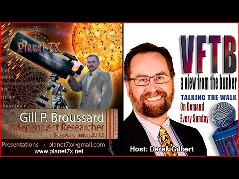 🌎Derek Guilbert Interview Gill Broussard Planet-7X - April 19, 2016