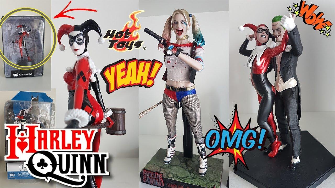 Las mejores Figuras coleccionables de Harley Quinn - YouTube a920a616d42