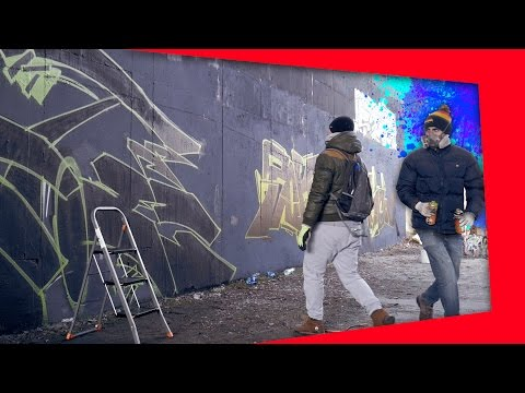 MY BEST GRAFFITI PIECE EVER? feat. Smart | Stoe