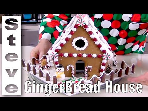 MAKE A GINGERBREAD HOUSE from Scratch