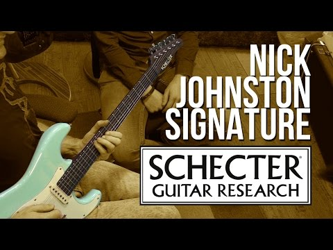 Schecter Nick Johnston Signature - Unboxing