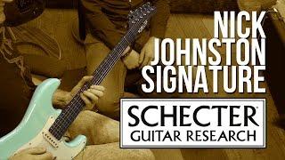 Schecter Nick Johnston Signature - Unboxing
