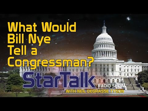 If Bill Nye Had 60 Seconds To Persuade Congress To Fund Space Exploration, He'd Say This